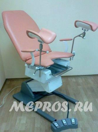 Гинекологическое кресло с электроприводом КГЭМ-01